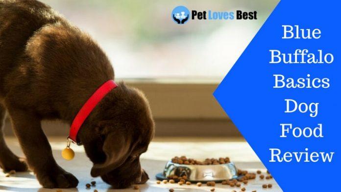 Featured Image Blue Buffalo Basics Dog Food Review