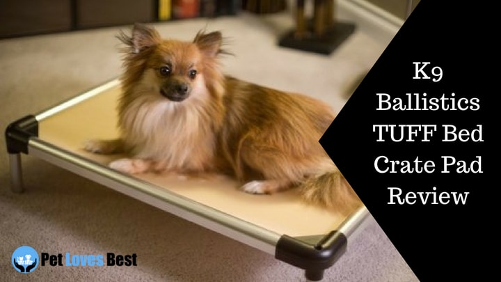 K9 Ballistics Tuff Bed Crate Pad Review Chew Proof Dog Crate Pad