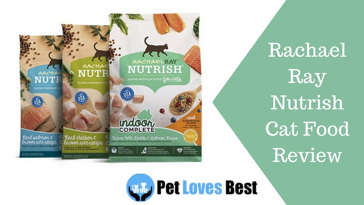 Rachael Ray Cat Food Nutrish Review