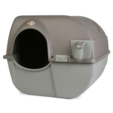 Omega paw self-cleaning kitty litter box