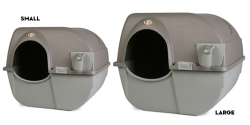 variants of omega paw self-cleaning litter box