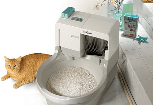 catgenie self cleaning automatic cat litter box