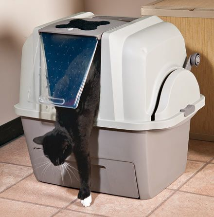 smartsift self-cleaning litter box