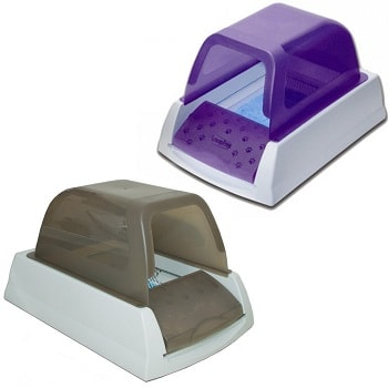 different color in scoopfree ultra litter box