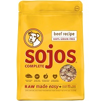 Sojos Complete Natural Grain Free Freeze Dried Raw Dog Food