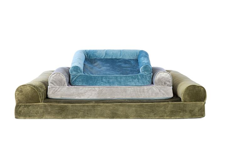 FurHaven Cooling Sofa Dog Bed is a cooling sofa cum bed types