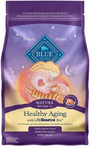blue buffalo aging dry cat food