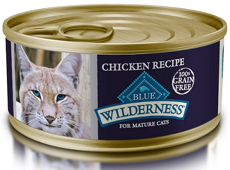 Blue Wilderness Wet Food for Mature Cats