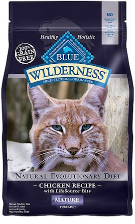 Blue Wilderness Mature Dry Food for Cat