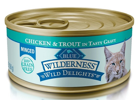 Blue Wilderness Wet Food for Cats
