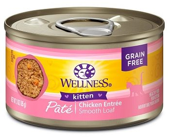 wellness natural kitten chicken formula
