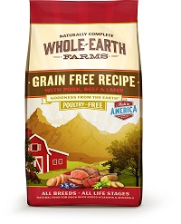 low fat grain free dog food