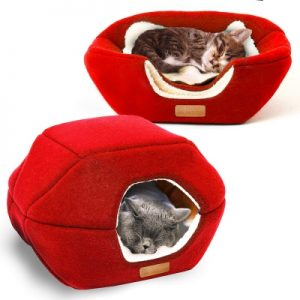 2-in-1 Foldable Cat Bed
