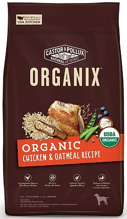 Castor & Pollux Organix Chicken & Brown Rice Recipe