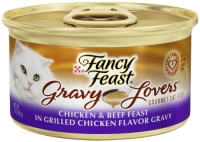 Chicken & Beef Feast in Grilled Chicken Flavor Gravy