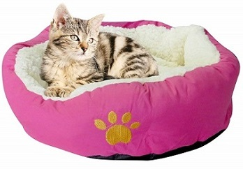 Evelots Soft Pet Bed for Cats