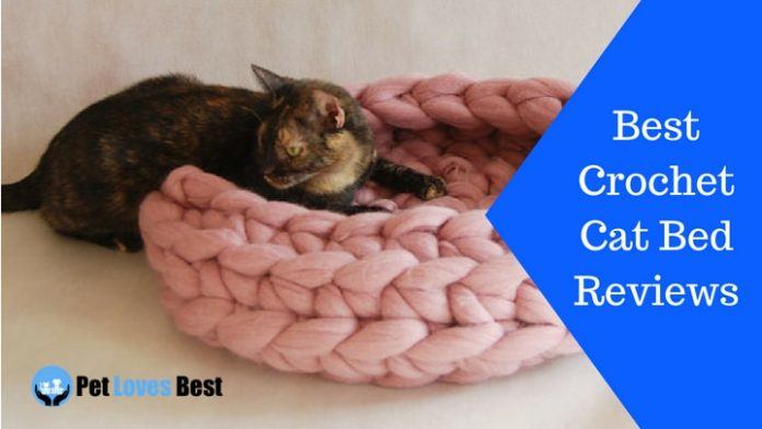 Featured Image Best Crochet Cat Bed Reviews
