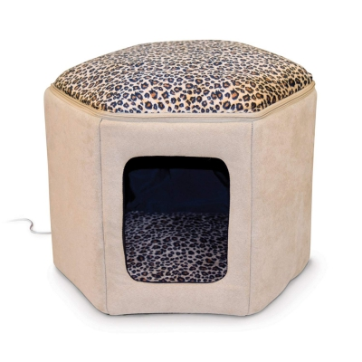 super stylish Leopard Cat House