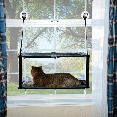double floored cat window perch
