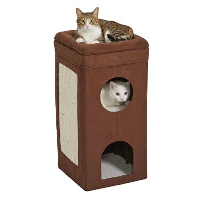 3 tiers cat house condo