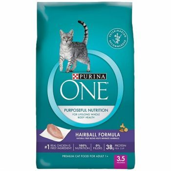 Purina ONE Purposeful Hairball Adult Dry Cat Formula