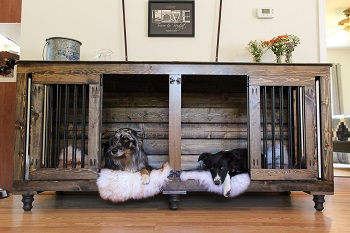 DIY dog crate