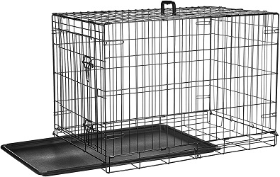 AmazonBasics wire dog crate