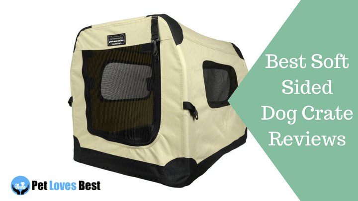 Featured Image Best Soft Sided Dog Crate Reviews