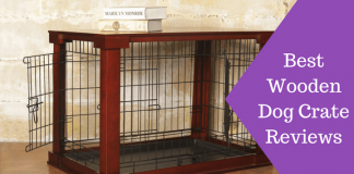 Featured Image Best Wooden Dog Crate Reviews