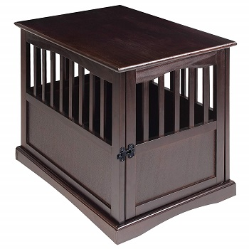 impact case collapsible wooden dog crate