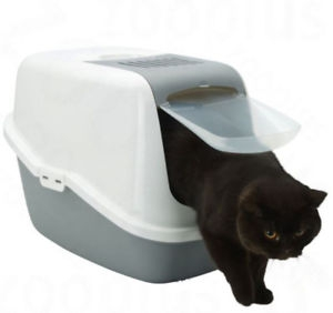 Covered Litter Box