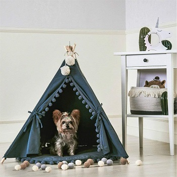 Little Dove Pet Teepee House Indian Tent