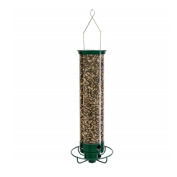 Droll Yankees Squirrel Proof Bird Feeder, Yankee Flipper, Tube Feeder