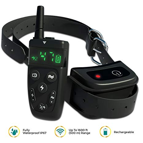 Dog Shock Training Collar with Remote by TBI corp