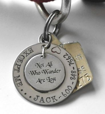collar tag for cat