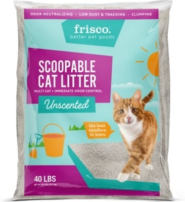 Frisco unscented cat litter