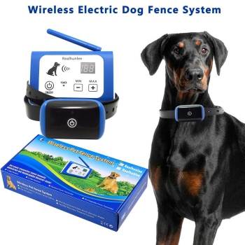 RealhunleeWireless Electric Dog Fence System