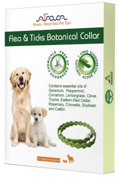 Arava Flea & Tick Prevention Collar - for Dogs & Puppies