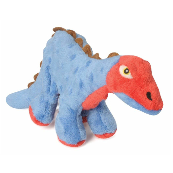 GoDog Dinos Spike Indestructible Plush Dog Toys