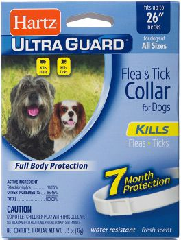 Hartz UltraGuard Flea & Tick Collar for Dogs and Puppies