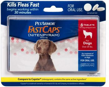 non prescription flea pills for dogs
