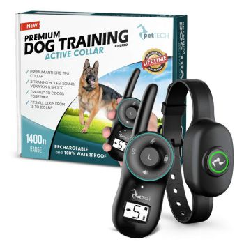 PetTech Premium Dog Training Shock Collar
