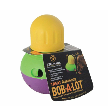 StarMark Bob-A-Lot treat dispensing dog toys