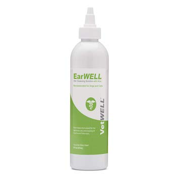 VetWELL Ear Cleaner Otic Rinse for Infections and Controlling Yeast
