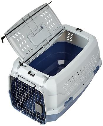 AmazonBasics Top-Load Plastic Dog Crate