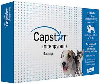 Capstar Fast-Acting Oral Flea Treatment for Cats