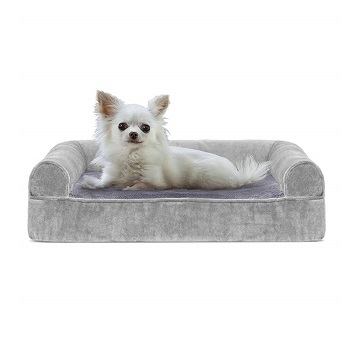 FurHaven Cooling Sofa Pup Bed