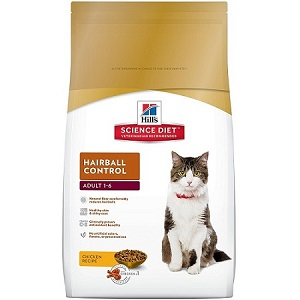 Hill's Science Diet Hairball Control Food for Adult Cat