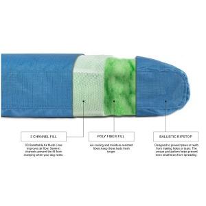 K9 Ballistics Nesting Bolstered TUFF Bed material