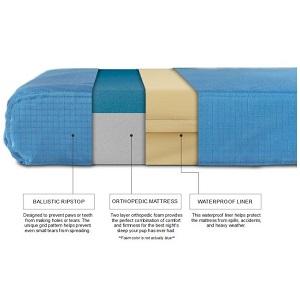 K9 Ballistics TUFF Orthopedic Memory Foam Dog Bed material